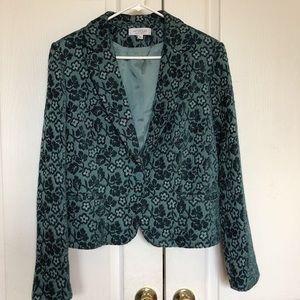 Emanuel Ungaro Blazer Jacket Jacquard Coat 16